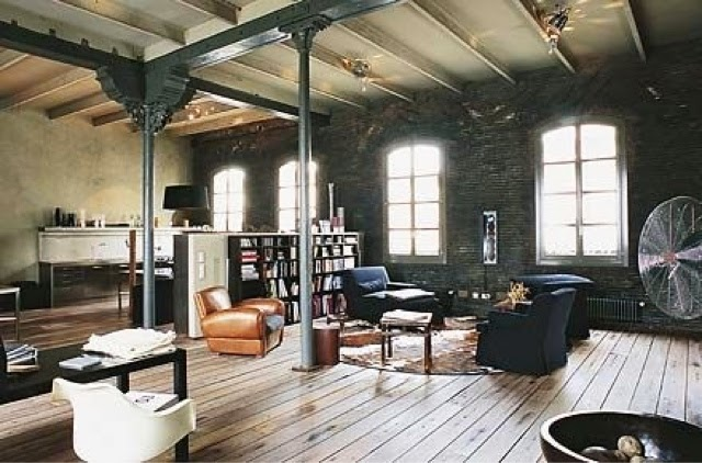 Homestyling inspiration: warehouse conversion