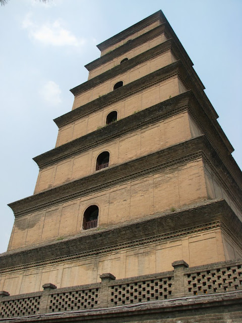 Facade of the Big Wild Goose Pagoda