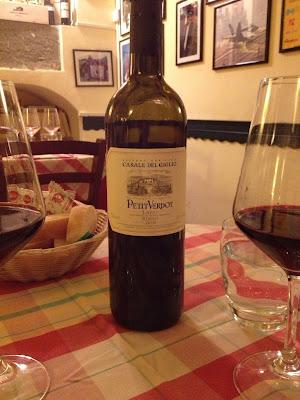 Petit Verdot, Lazio şarabı
