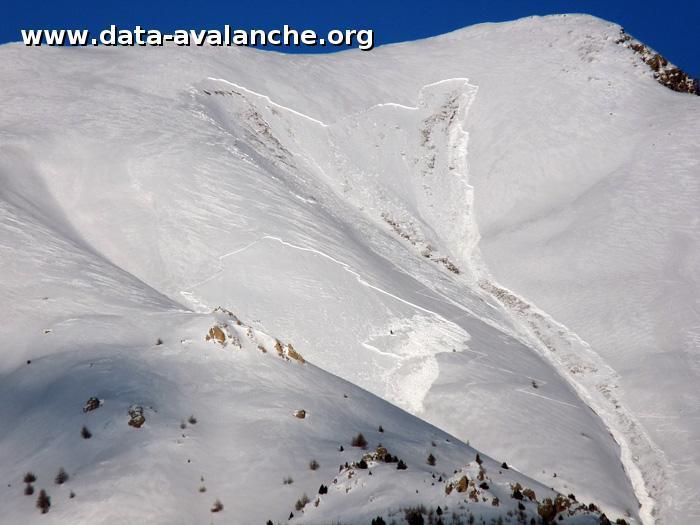 Avalanche Queyras, secteur Pointe de Rasis, Entre la Pointe de Rasis et le Col des Estronques - Photo 1