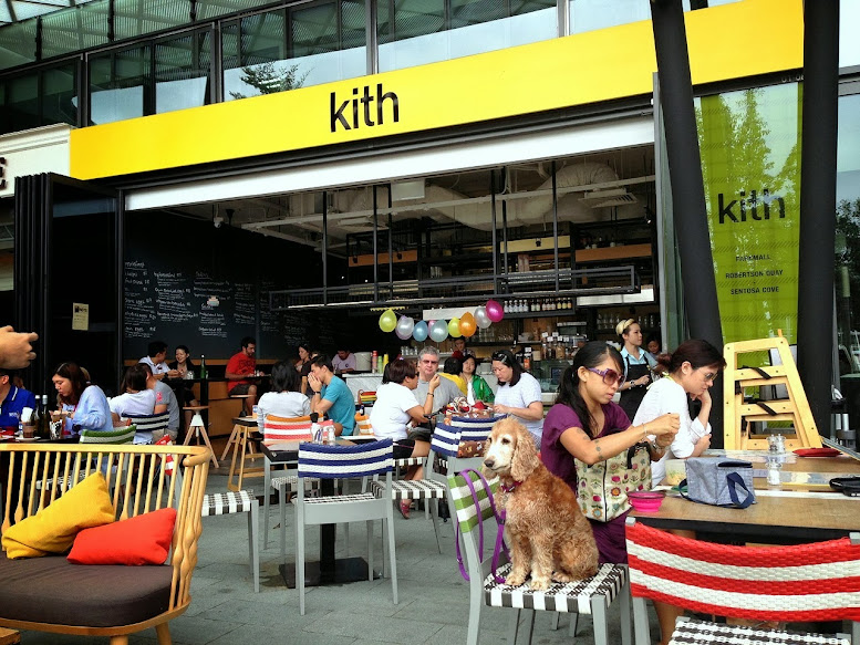 Kith Cafe in Sentosa Cove
