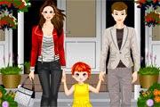 لعبة تلبيس العائلة