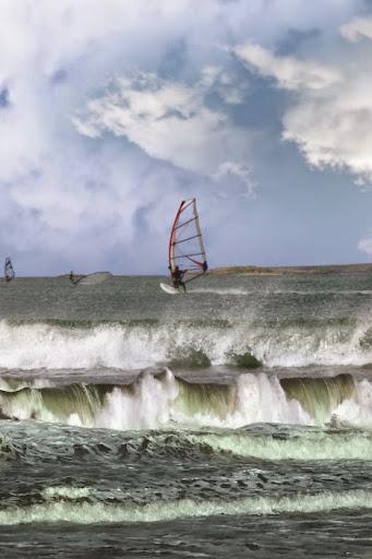 Windsurfing on Ireland's Wild Atlantic Way