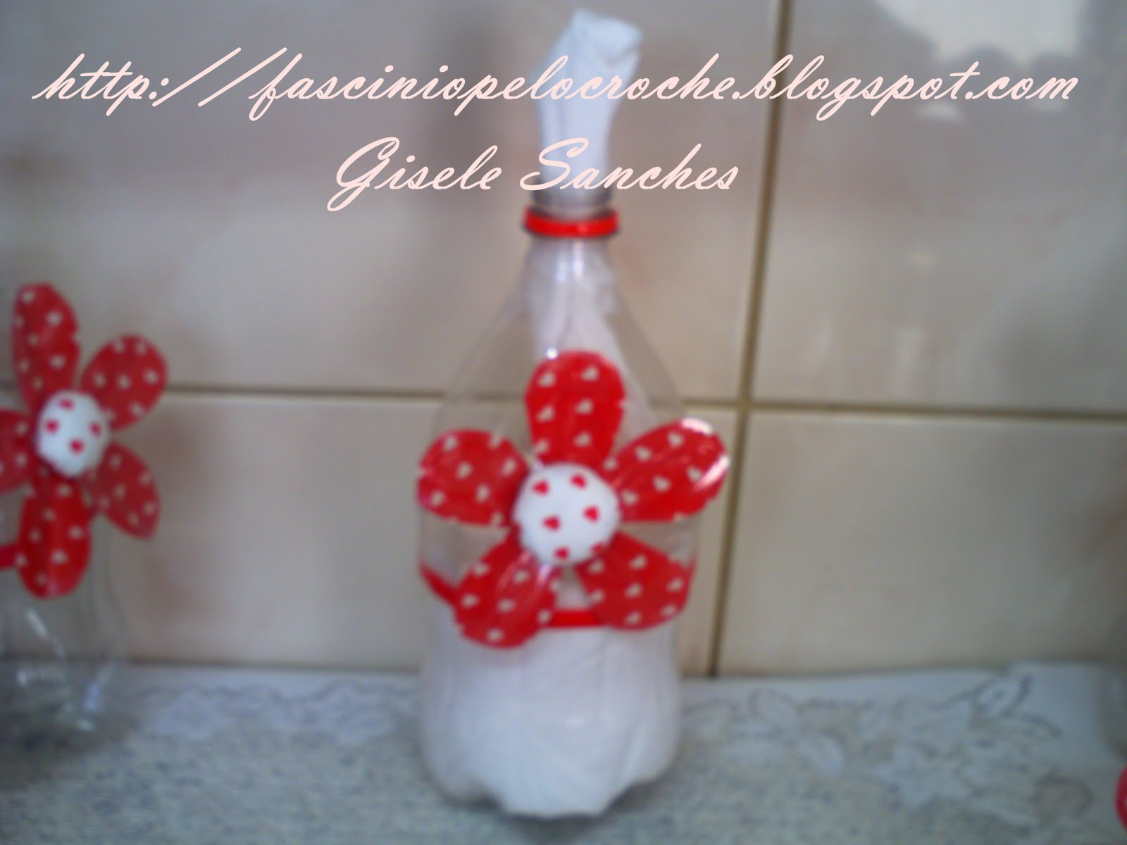 Fascinio pelo Croche: Porta papel higiênico - reciclagem