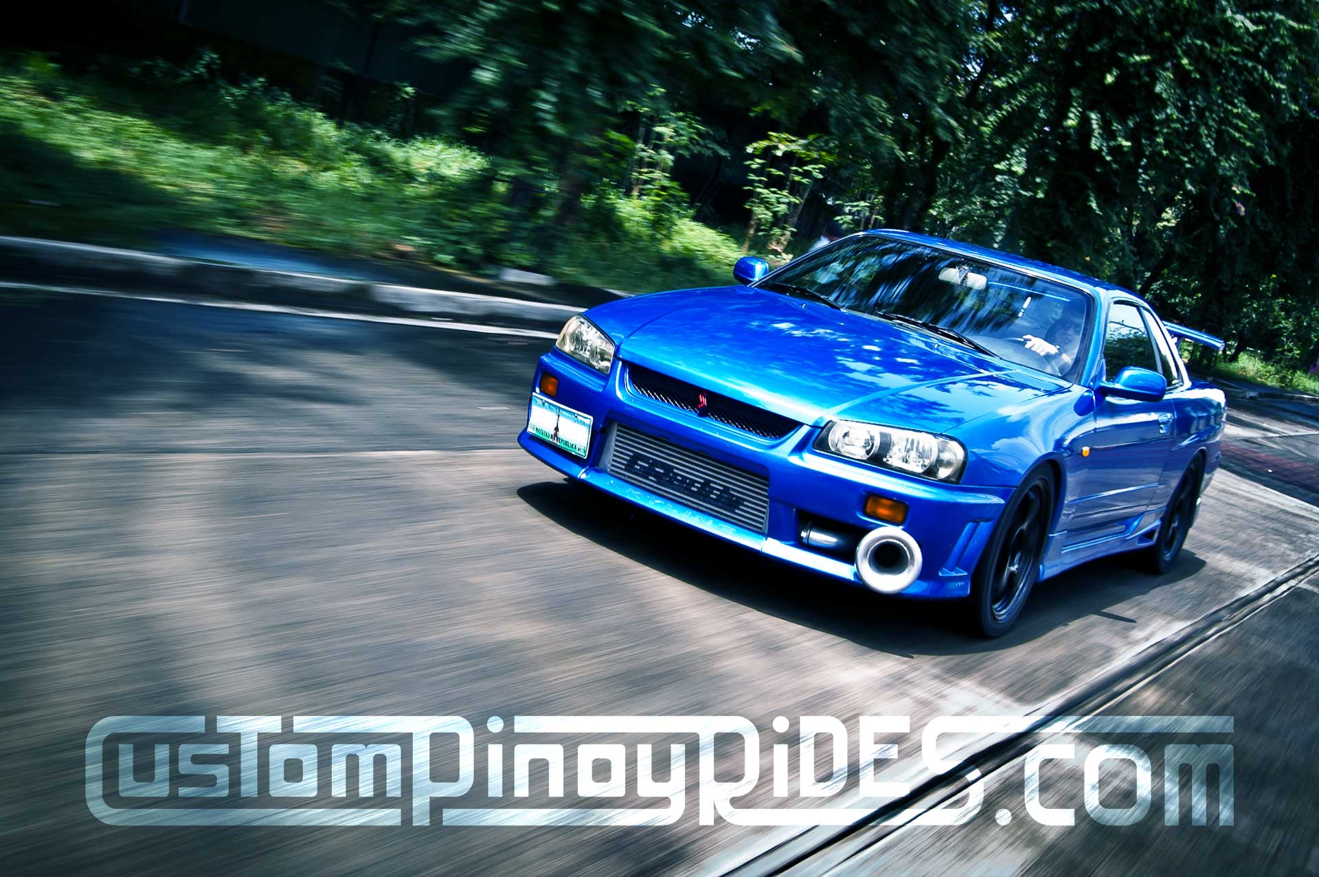 Nissan Skyline R34 Rolling Shot Custom Pinoy Rides Car Photography Manila Philippines