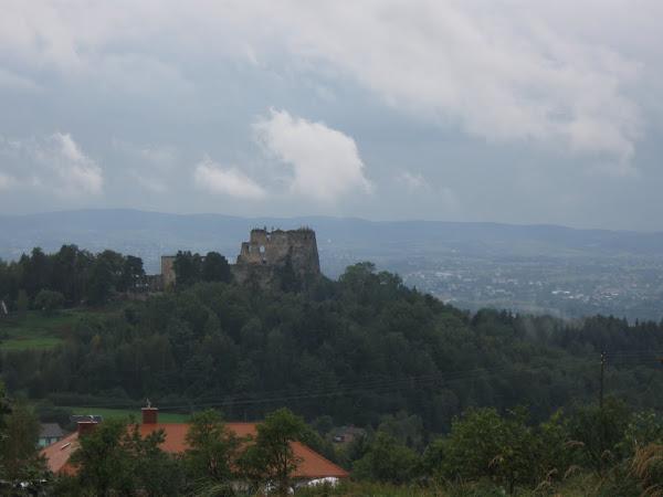 zamek kamieniec widok z daleka