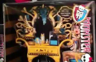 Monster High: ¿Próximos lanzamientos (2012) o FAKE? Tocador para Cleo de Nile