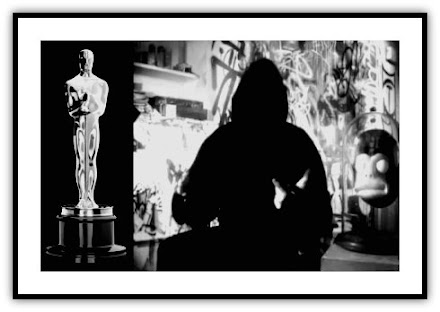 Streetart : ... and the Oscar goes to .... Banksy