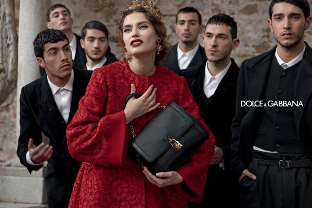 *戲劇性的拍攝手法:Dolce & Gabbana 2013秋冬形象照 7
