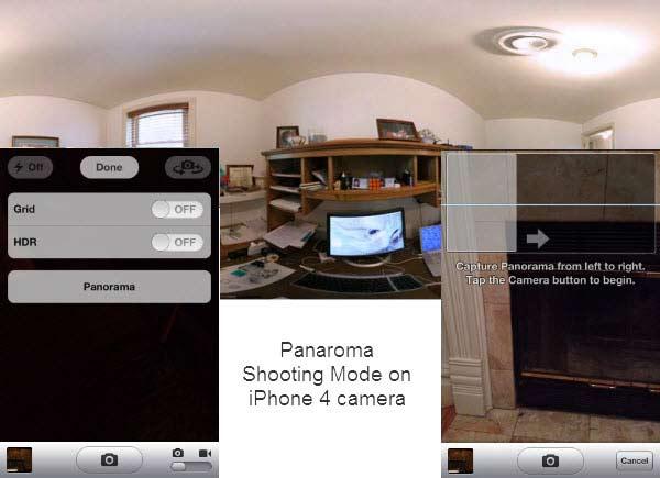iPhone 3GS and 4S Panoramic Photos iPhone Camera