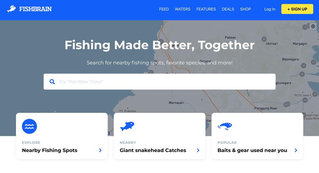 Fishbrain, rede social para entusiastas de pescaria