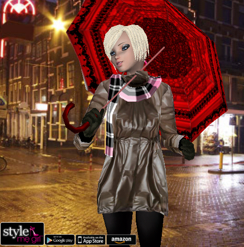 Style Me Girl Level 64 - Jill - Rainy Day