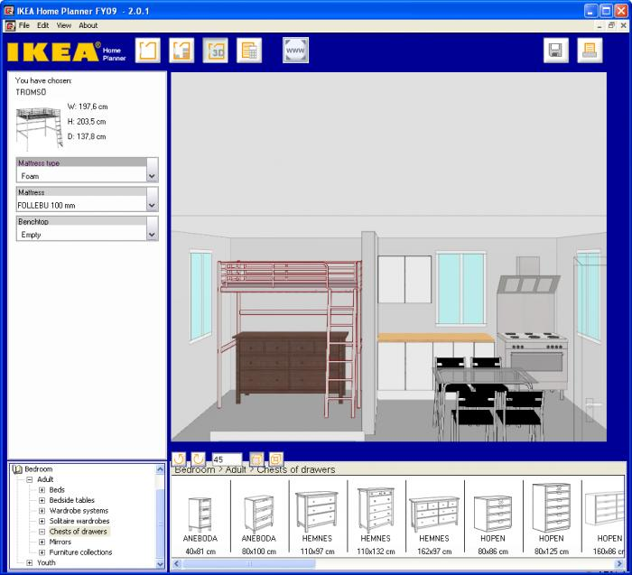Decoracion marzo 2011 for Ikea home planner online