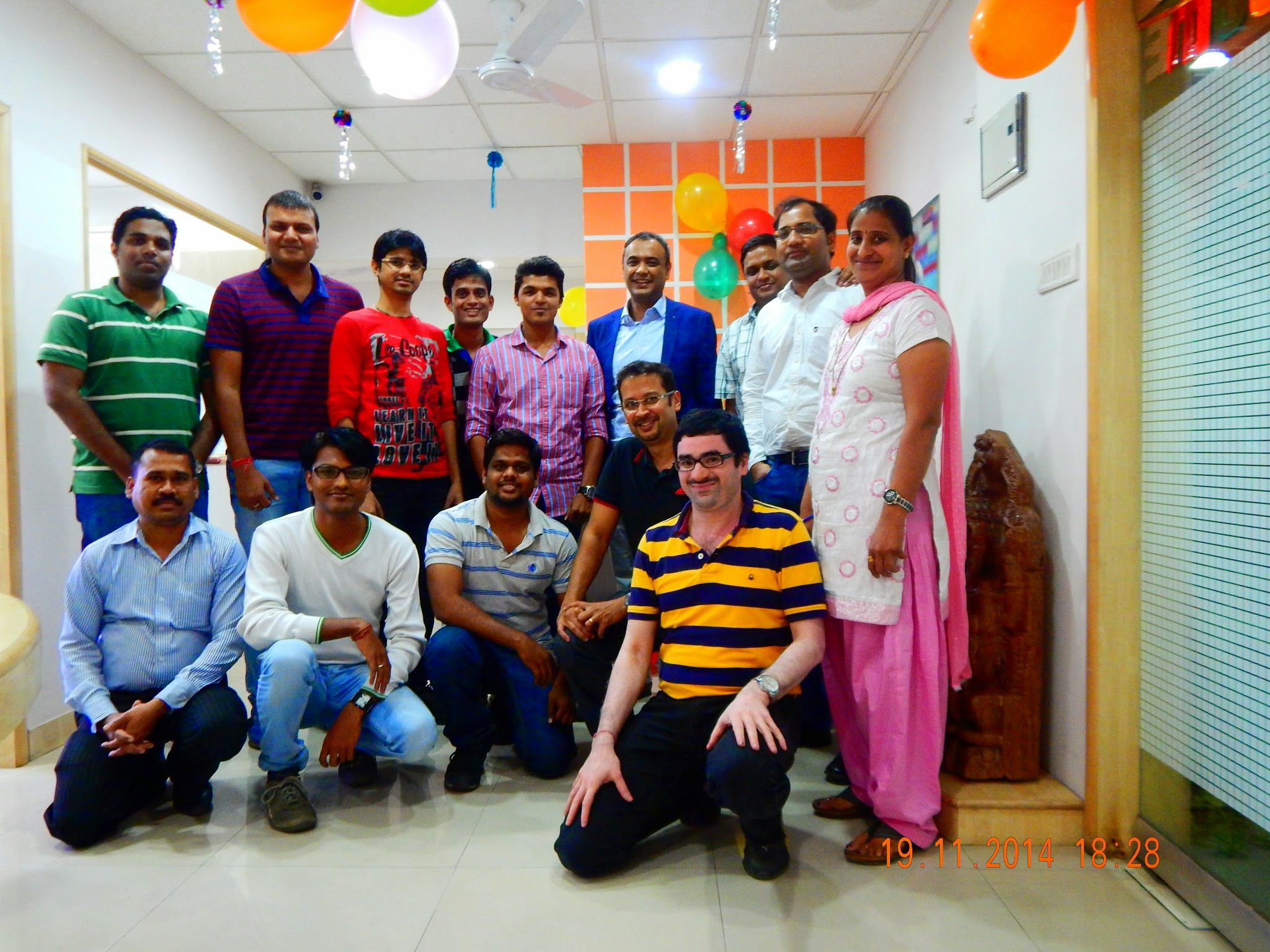 Agilites being rewarded for t... - MediaAgility Office Photo ...