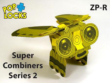 ZPR Poplock Paper Toy