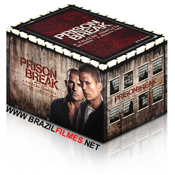 Download Prison Break 1, 2, 3, 4 Temporada RMVB Dublado