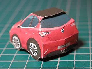 Mazda Hazumi Papercraft