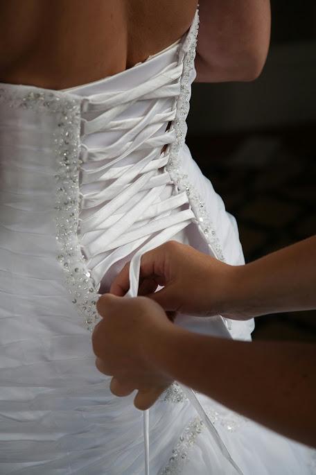 white organza mermaid dress