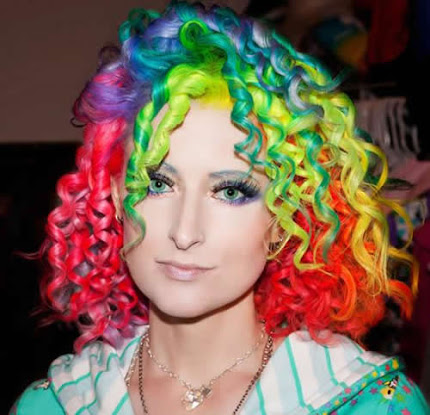 rainbow hair color 1