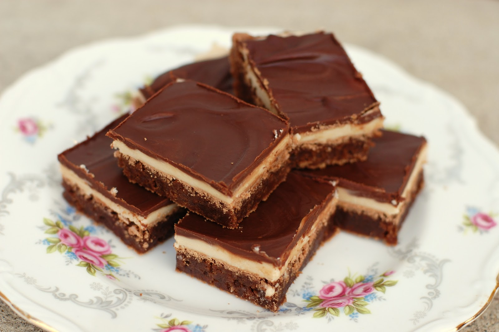 Barefoot and Baking: Layered Brownies with Browned Butter ...