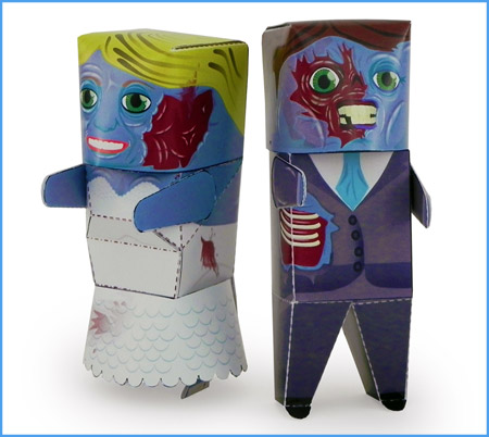Until Death Paper Toy