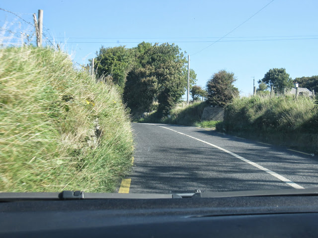 See how close you can get to the bushes on the side? Make room! From 5 Tips on Driving in Ireland