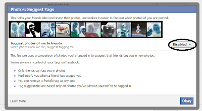 How To Disable Photo Tags Suggestion In Facebook