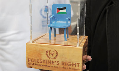 Palestine statehood UN chair