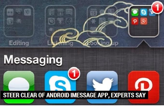 Huye de un iMessage para Android