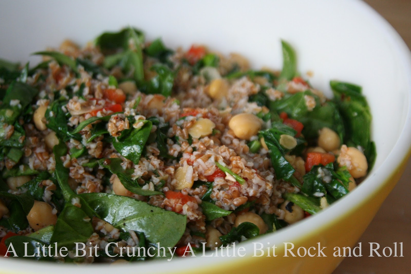 Bulgur Salad With Chickpeas And Red Peppers Recipes — Dishmaps