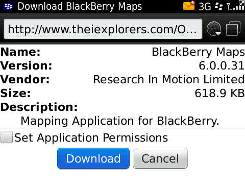 FaceBerry CoOL: Leaked BBMaps v6.0.0.31 For OS 6