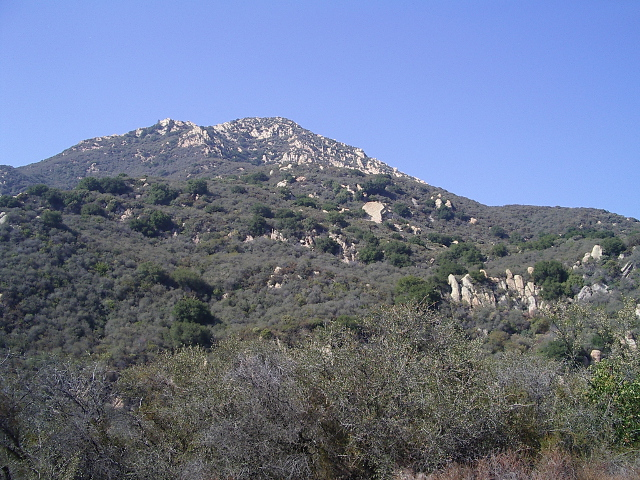 probably Cathedral Peak