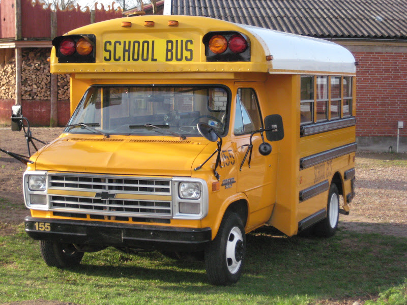 chevy van g30 original school bus mit diesel motor ebay. Black Bedroom Furniture Sets. Home Design Ideas
