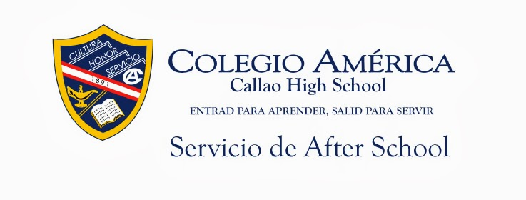 SERVICIO AFTER SCHOOL - MES DE ABRIL