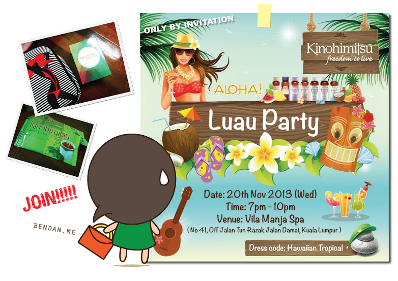 The girl named Bendan | Luau Party