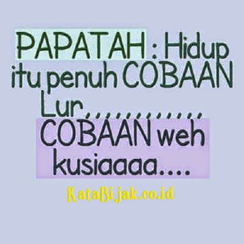 Gambar Dan Kata Kata Lucu Bahasa Sunda Portal Informasi