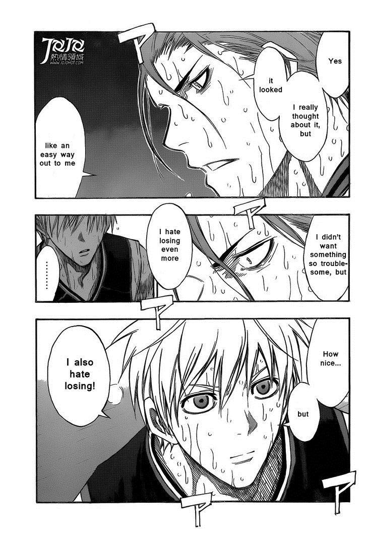 Kuroko no Basket Manga Chapter 166 - Image 3