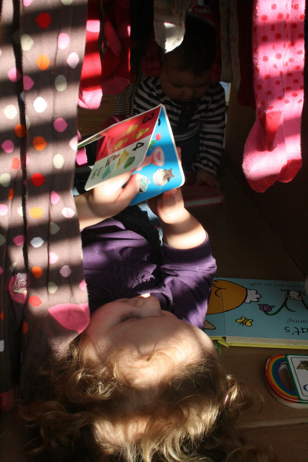 Baby Play Cardboard Box Play Tunnel The Imagination Tree