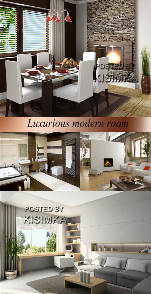 Stock Photo: Luxurious modern room