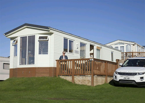 Camping  at Whiteford Bay Leisure Park