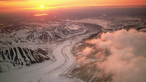 Glaciers Near Mount McKinley at Sunrise, Denali National Park, Alaska.jpg