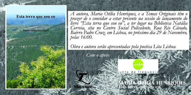'Esta terra que sou eu' de Maria Otília Duarte Pimenta Henriques