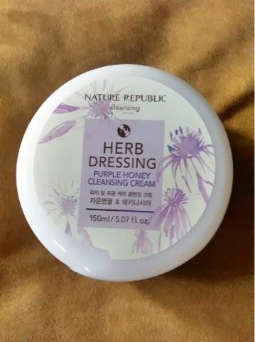 Nature Republic: Herb Dressing Purple Honey Cleansing Cream (Review)