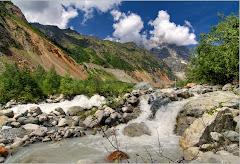 К леднику Чалаади