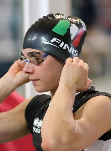 Giulia Ghiretti, nuovo record italiano ai Campionati Societari di Lignano Sabbiadoro