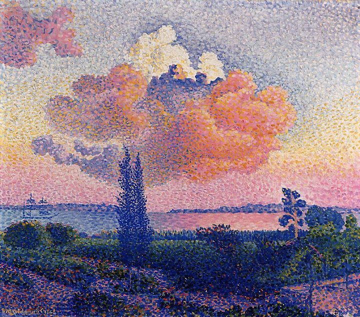 Henri-Edmond Cross - The Pink Cloud