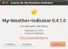 Liberado My-Weather-Indicator 0.4.1.0 para viajeros