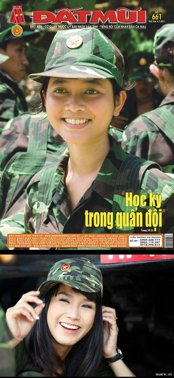 Serius Cute - Awek-Awek Askar Negara Vietnam (13 Gambar)