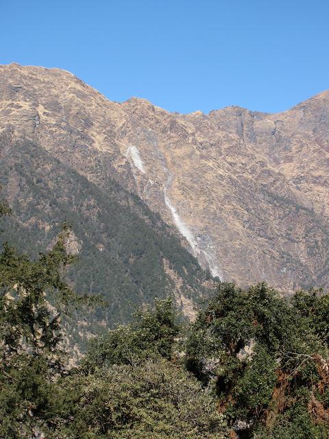 the ridge further along