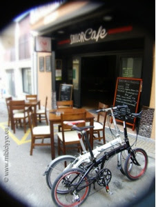 Sailor cafe burguer port andratx, Dahon Mu Ex y ECO3